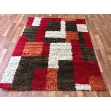 brown and white rug. Brown And White Rug Homey Red Rugs Discount Overstock Wholesale Area Depot .