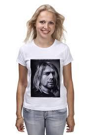 Футболка классическая Kurt <b>Cobain</b> #1630773 – заказать ...