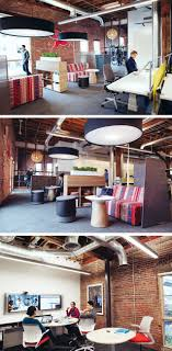 inspiring innovative office. Exellent Innovative Exposed Brick Open Spaces With Screens For Privacy And Bold Colors Create  An Inspiring Work Environment In Our Portland Innovation Center Intended Inspiring Innovative Office I
