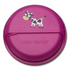 <b>Ланч-бокс для перекусов</b> SnackDISC™ Cow фиолетовый