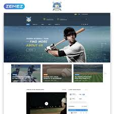 Baseball Websites Templates Baseball Website Templates
