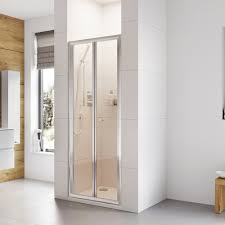 haven bi fold door shower enclosure