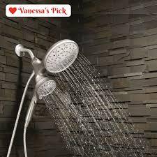 dual shower head. Moen Magnetix Attract Dual Hand Held Rain Shower Head Combo Magnetic Dock - The Y