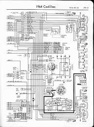 cadillac wiring diagrams 1957 1965 1964 series 60 62 left