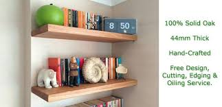 Oak Corner Floating Shelves Magnificent Oak Floating Shelves Oak Floating Shelf Edge Dark Oak Floating