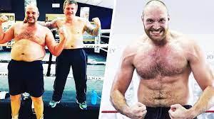 Tyson Fury's amazing body ...