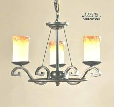 diy faux candle chandelier pillar picture inspirations