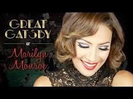 great gatsby makeup marilyn monroe inspired