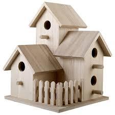 Birdhouse Triple Birdhouse By Artmindsar