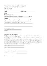 Permalink to Sale Purchase Agreement Format : 52 Sample Sales Contracts In Pdf Ms Word Excel : 4 look for these important things before signing the car purchase agreement.