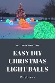 outdoor lighting balls. Outdoor Lighting: How To Make Christmas Nice Light Balls Lighting