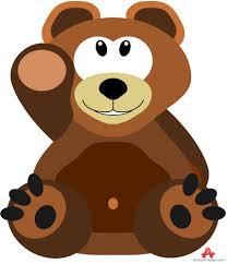 cute pillow clipart. cute little bear pillow clipart