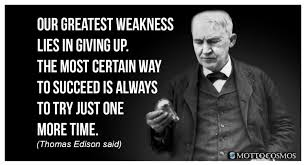 Thomas Edison Quotes Magnificent Thomas Edison Said Quotes 48 Motto Cosmos Wonderful People Said