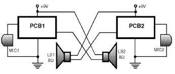 simple intercom circuit diagram simple image low cost and simple intercom schematic design on simple intercom circuit diagram