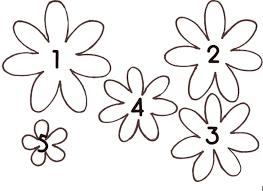 3d Flower Template Printable Rudycoby Net Paper Flower
