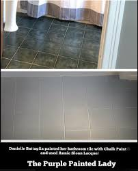 how to clean your painted floor done with chalk paint and lacquer