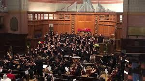 Ava Hopkins Winter Concert 2019 SOGNO DI VOLARE Orchestra & Choir - YouTube