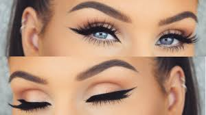 how to perfect winged eyeliner every time cat eye tutorial you