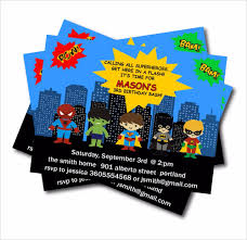 Personalized Superhero Birthday Invitations 20 Pcs Lot Personalized Superhero Birthday Party Invitation Baby