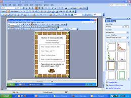 Design Invitations In Microsoft Powerpoint Watch Video