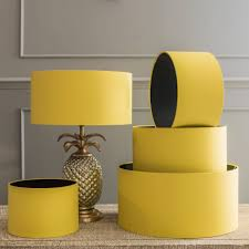 Yellow Table Lamp Shades Only Lamp Design Ideas