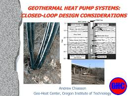 Geothermal Borehole Design System Construction Geothermal Communities