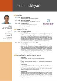 Gallery Of 35 Best Cv And R Sum Templates Top Resume Templates