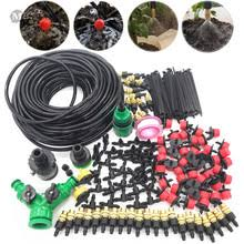 muciakie 10m 15m 20m 25m 30m garden watering irrigation system watering kit with pvc hose misting
