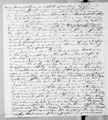 Andrew Jackson to Lewis Fields Linn, March 12, 1842 - Library Of Congress  Public Domain Image