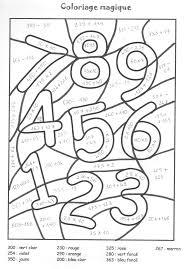 Coloriage Magique Multiplication Jusqu 5 Frais Plan Belle