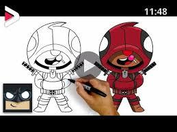 Gewoon, (super)zeldzaam, episch, mythisch en legendarisch. How To Draw Deadpool Leon Brawl Stars دیدئو Dideo