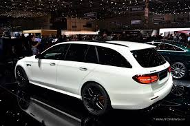 2018 mercedes benz amg e 63 s 4matic. simple benz 2018 mercedesamg e63 s wagon is the godzilla of practicality live geneva  update and mercedes benz amg e 63 s 4matic