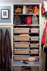 a well organised walk in wardrobe doesn t have to be a huge fuss to execute this neat set up in the new york home of architects ann fairfax and richard