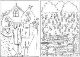 Money Coloring Pages Rockstar Finance Curating The Best Of