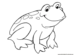 Small Picture frog coloring pages frog coloring pages for preschoolers frog