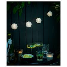 Solarvet Led Lichtsnoer Met 24 Lampjes Buiten Op Zonnecellen Bal Wit