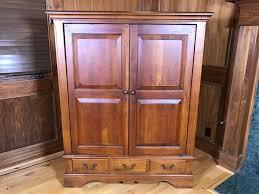 hooker furniture entertainment center. Hooker Furniture Wooden Entertainment Center Cabinet With Pocket Doors  [Photo 1] Hooker Furniture Entertainment Center L