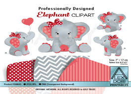 Tusker elephant walking to the water. Girl Elephant Clipart Graphic By Adlydigital Creative Fabrica