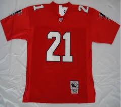 Mitchell Deion - Cheap Supply China Red Nfl 21 Throwback Ness Jersey Buy Sanders From Falcons And Stitched Authentic Wholesaler Jerseys