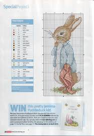 37 Peter Rabbit I Love All Things Beatrix Potter Cross
