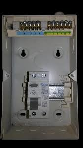rcd wiring into fuse box forums question to confirm wiring from fuse box into rcd n on l live on right supply top and load bottom earths on top right yeah