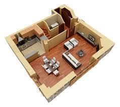 residential duplex 3d floor plan 3d house plans home ideas