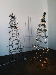 Tomato Cage Christmas Tree Diy Alternative Christmas Trees