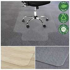 Eco friendly office chair Design Office Marshal Chair Mat For Carpet With Lip Ecofriendly Series Chair Floor Protector Amazoncom Amazoncom Office Marshal Chair Mat For Carpet With Lip Eco