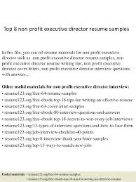 Executive Director Resume Director Resume Sample Executive Director