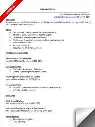 Resume Sample For Secretary Medical Secretary Resume Sample Resume Examples Resume Medical