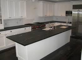 white kitchen with soapstone countertop inspiration
