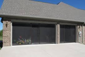 brown garage doorsGarage Door Screens  Overhead Door Company of St Louis