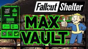 Fallout Shelter Design Tips Fallout Shelter Maxed Out Vault Max Everything 200 Dwellers Best Layout