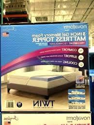 costco mattress topper. Photo 3 Of 7 Mattress Topper Memory Foam Costco Novaform Canada Gel .